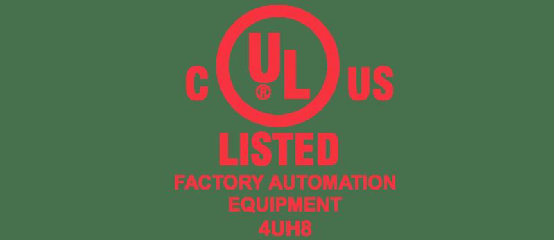 UL/CSA accreditation factory automation equipment