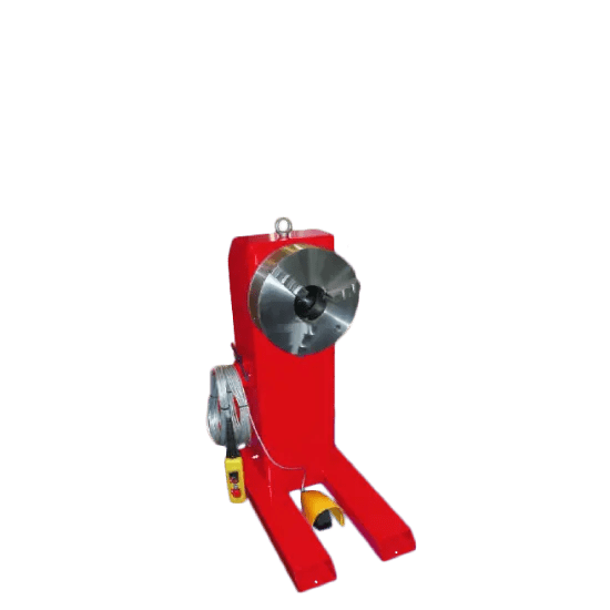 welding headstocks and tailstocks by key plant automation