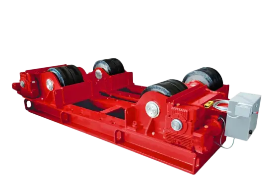 welding rotators and turning rolls by key plant automation