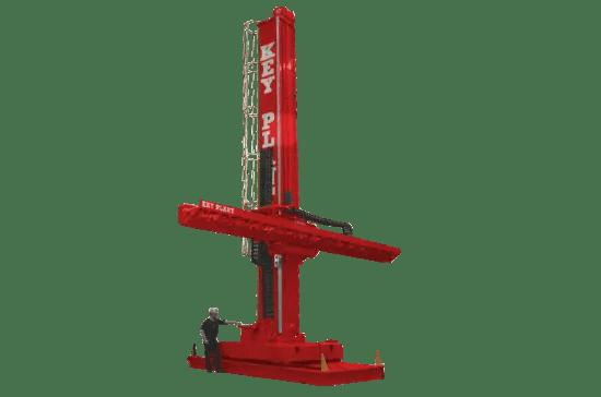 Extra heavy duty column and boom welding manipulator