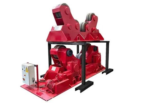 Used 100 Ton self aligning welding rotator / turning roll