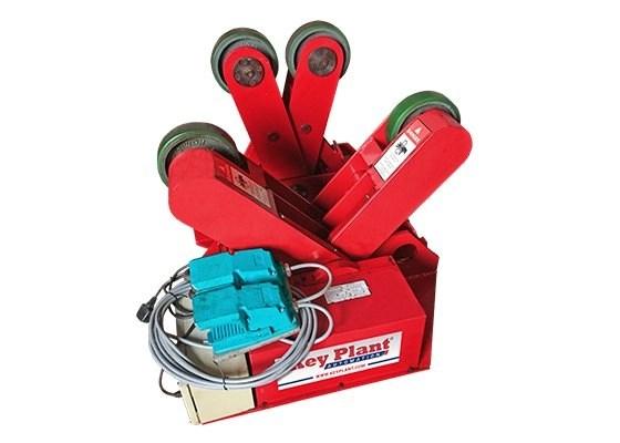 3 Ton welding crocodile / scissor rotators turning rolls used equipment