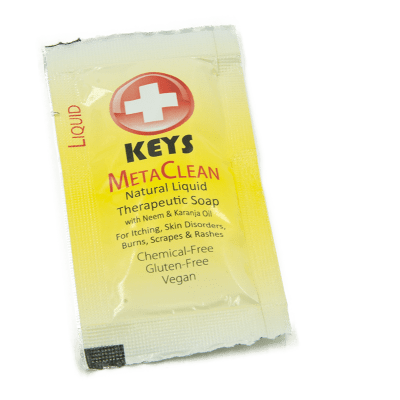 MetaClean Therapeutic Shampoo and Soap Sachet