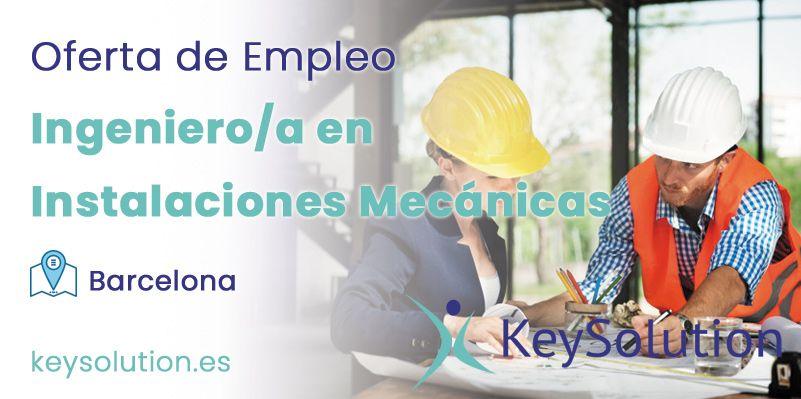 ingeniero en instalaciones mecanicas barcelona