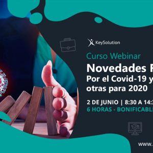 Curso sobre Novedades Fiscales por el Covid-19 y otras para 2020