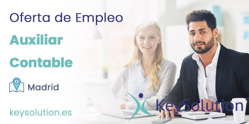 auxiliar contable empleo madrid