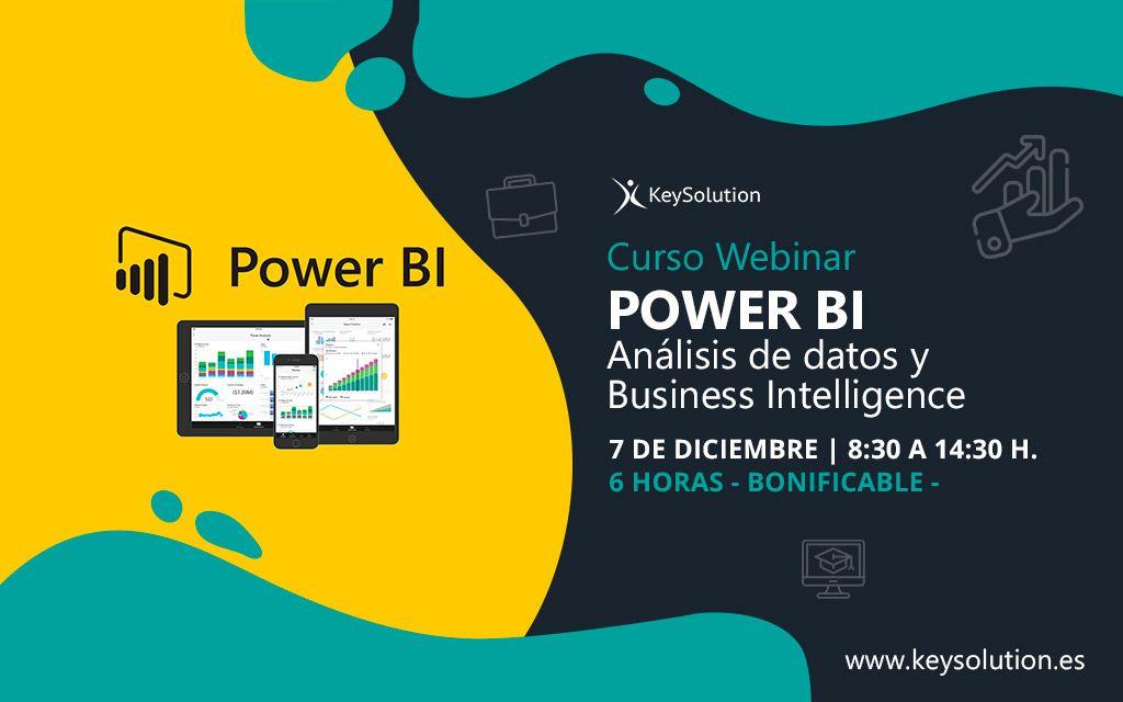 curso webinar power bi keysolution