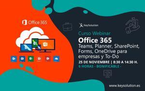 webinar office 365 curso keysolution 6 horas