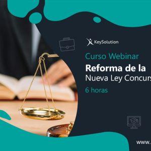 reforma de la nueva ley concursal 2021 webinar