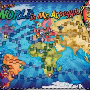 Where in the World is Mr. Arpeggio