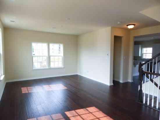 Living Room Main Level Hardwood Floors Ryan Homes Wexford