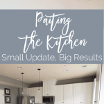 Painting the Kitchen – Small Update, Big Results