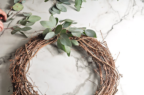 DIY Eucalyptus Wreath Tutorial-26