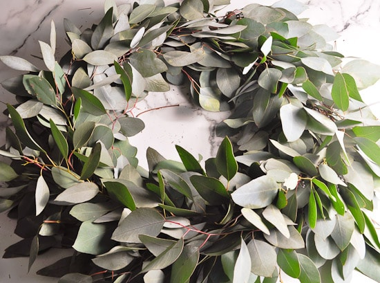 DIY Eucalyptus Wreath Tutorial-43
