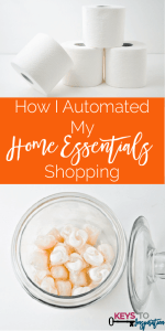 How I Automated My Home Essentials Shopping