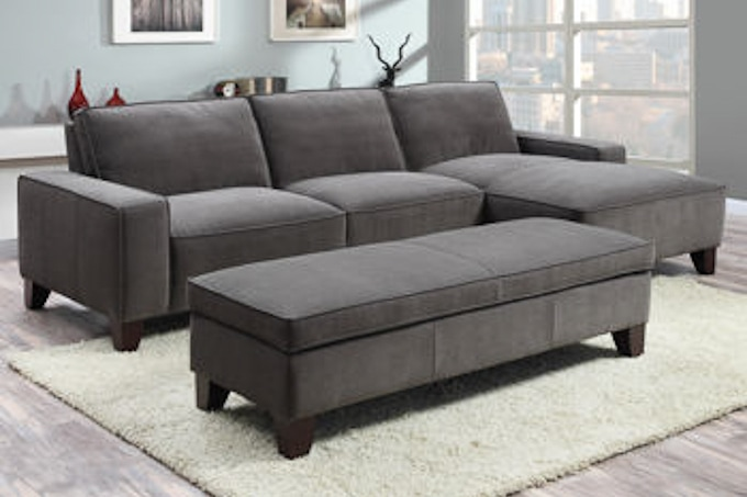 You Will Never Guess Where She Found This Amazing Sectional Couch! And It  Was A