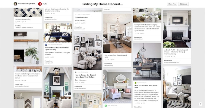Figure Out Your Home Decor Style Using Your Pinterest Boards! See How She  Found Her