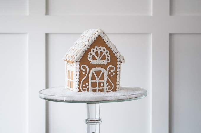 how to make a beautiful christmas gingerbread house the easy way i love this