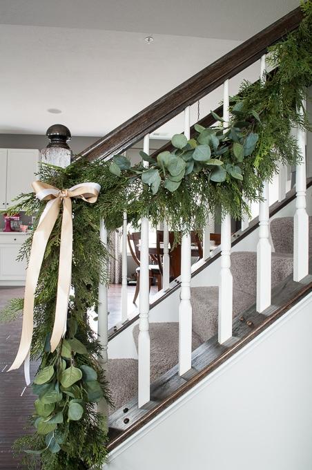 Pine And Eucalyptus Christmas Garland Keys To Inspiration