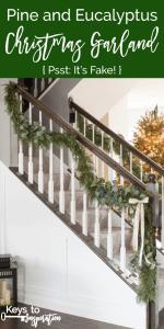 Pine and Eucalyptus Christmas Garland