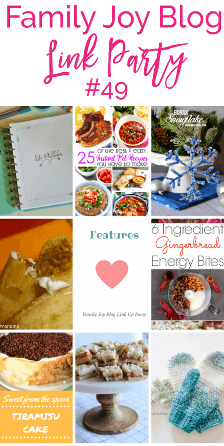 Features from the Family Joy Blog Link Party #49. Great and creative ideas!