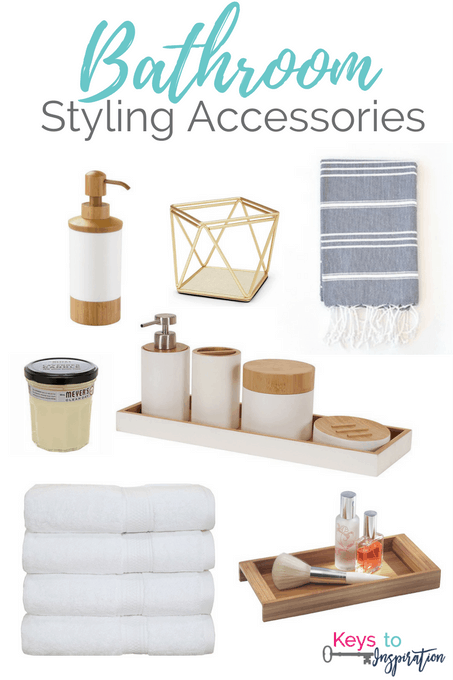 Bathroom Styling Accessories Keys To Inspiration