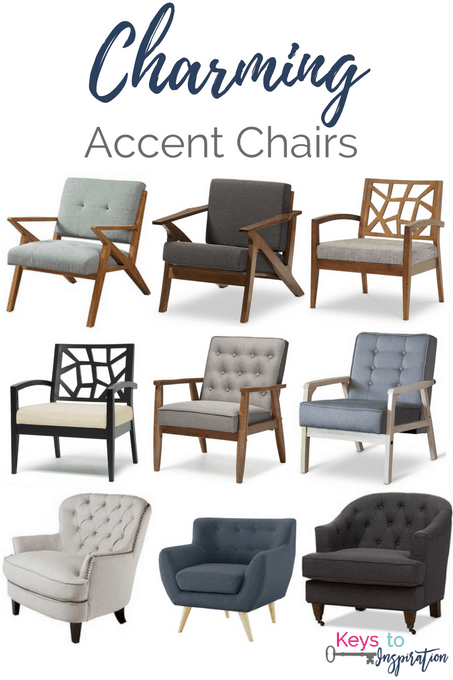 Fabulous Charming Accent Chairs Keys To Inspiration Inzonedesignstudio Interior Chair Design Inzonedesignstudiocom