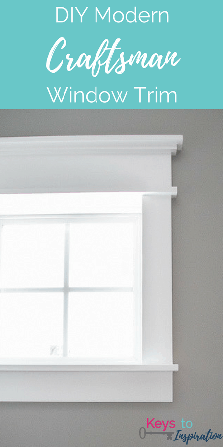 Tutorial For Creating Modern Craftsman Window Trim. I Love The Clean Crisp  Look Of The