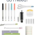 Which Cricut Explore Accessories do I Need?