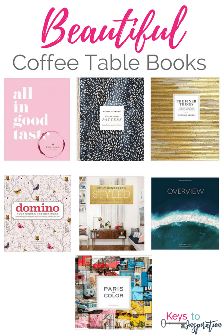 Beautiful Coffee Table Books Keys To Inspiration