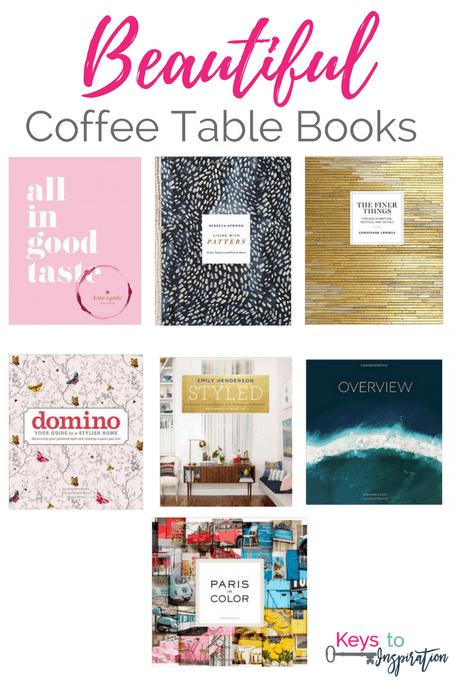 Beautiful Coffee Table Books Keys To Inspiration