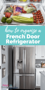 How to Organize a French Door Refrigerator