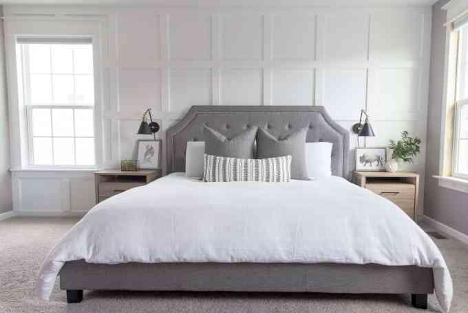 Modern Classic Master Bedroom Design