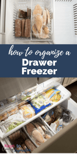 How to Organize a Drawer Freezer