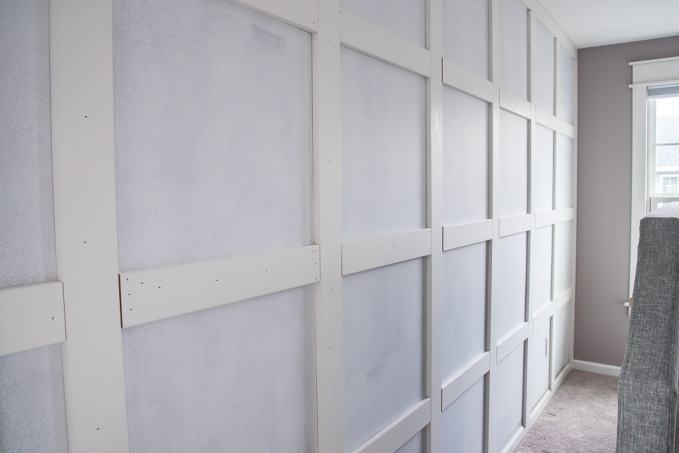 How To Build A Grid Board And Batten Wall Keys To