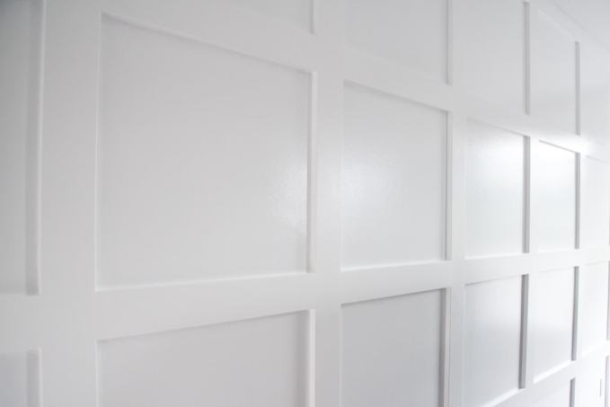 How To Build A Grid Board And Batten Wall Create A Stunning Feature Wall For