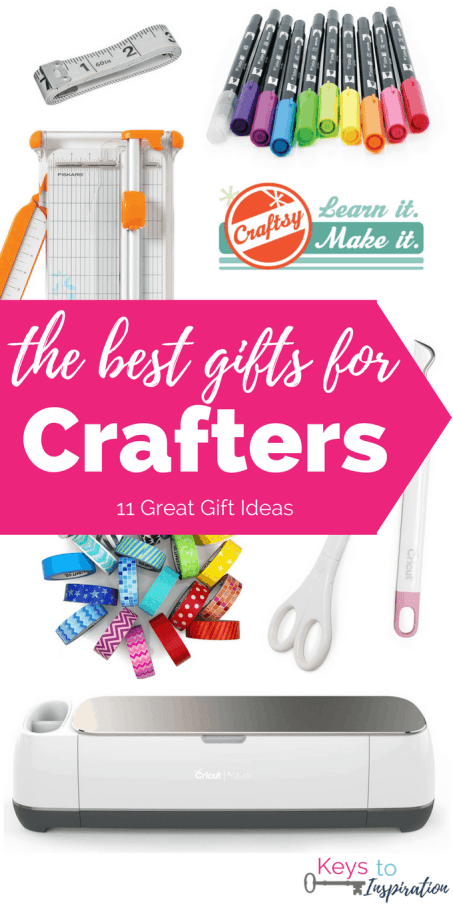 The best gifts for crafters may not be obvious to everyone. But with this ultimate gift guide for crafters, you'll be able to find a gift they will love!