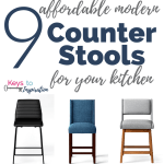 9 Affordable Modern Counter Stools for Your Kitchen