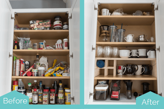 Organized Kitchen Cabinets And Drawers {Part 1} » Keys To