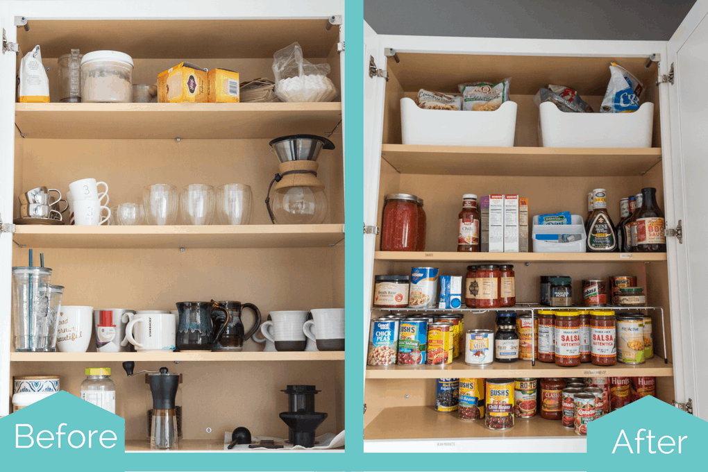Organized Kitchen Cabinets And Drawers. Functional And Practical Solutions  For Kitchen Organizing Problems. Get