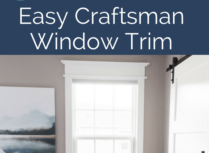 How To Install Easy Craftsman Window Trim Keys To
