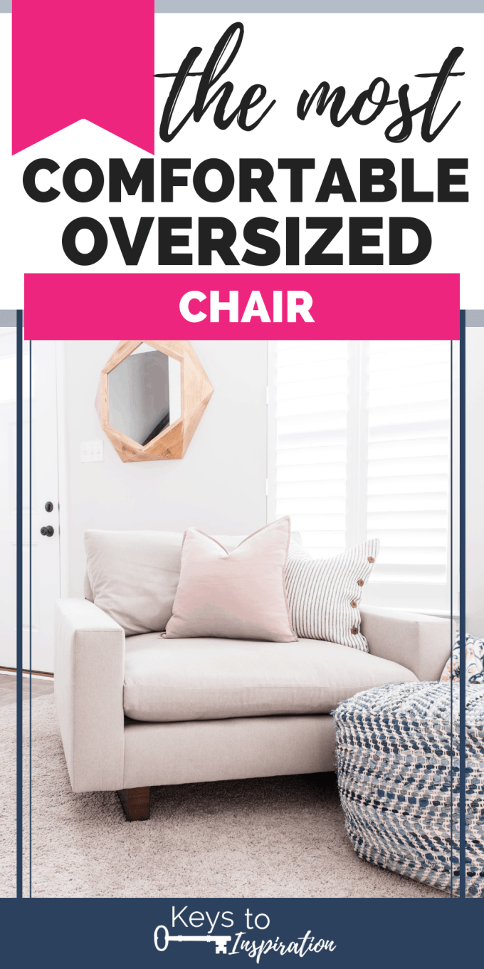 the most comfortable oversized chair Harmony chair and a half from west elm