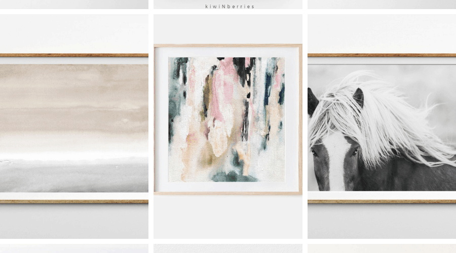 collage of etsy art prints for your home