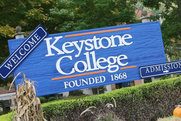 Keystone College does a great job of marketing to student veterans.