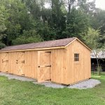 Shedrow Horse Barns From Lancaster Amish Builders