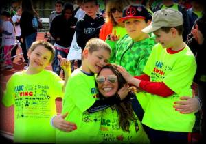 Miss Powell's class at special olympics