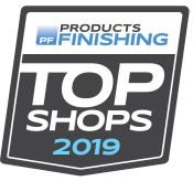 Products Finishing - Top Shops 2019 logo
