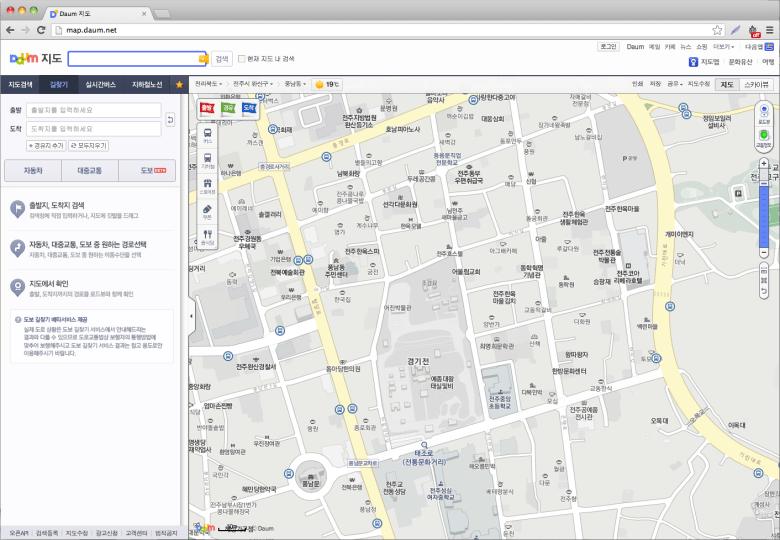 Daum Maps startup