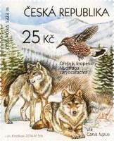 Ochrana přírody - Beskydy (vlci obecní, ořešník kropenatý) - Pof. č. 0817