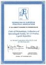 Ocenění FEPA - nejlepší evropský filatelistický klub roku 2014